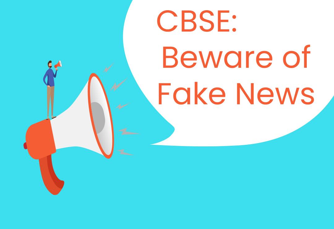 Beware of Fake News: CBSE