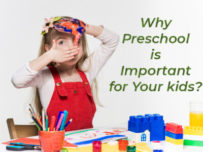 Why Preschool is Important for Your kids